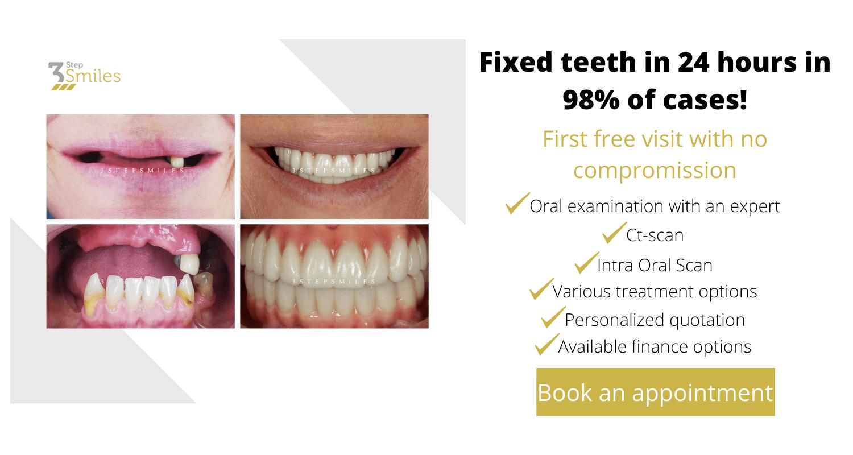 fixed teeth senior patient