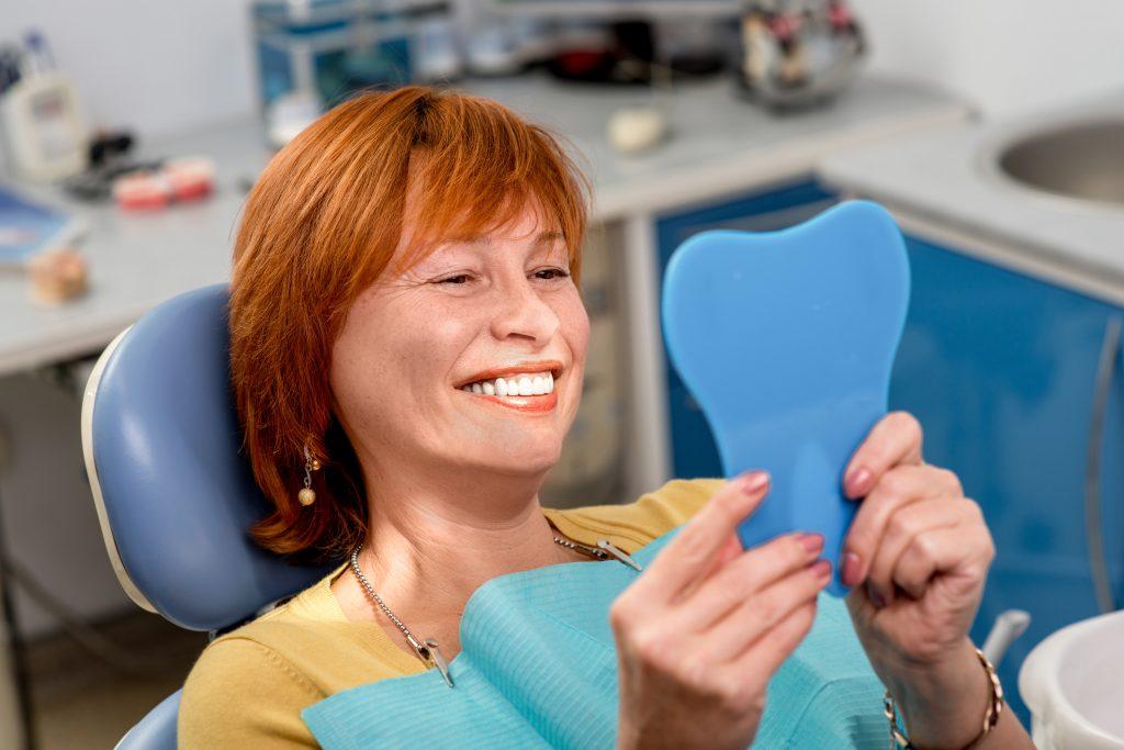 smiling patient senior